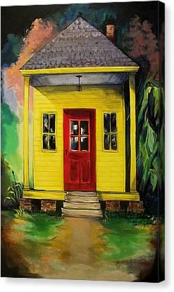 Shotgun House Canvas Print