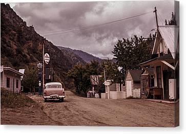 Shoup Idaho In 1962 Canvas Print