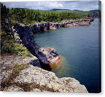 Shovel Point Canvas Print by Tim Hawkins