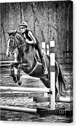 Canadian Grand Prix Canvas Print - Show Horse Jumping  by Jt PhotoDesign