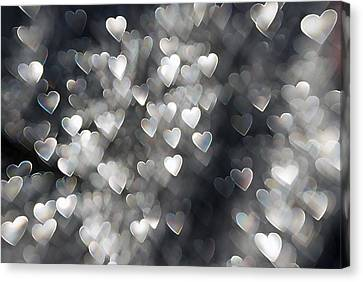 Showered In Love Canvas Print by Beverly Stapleton