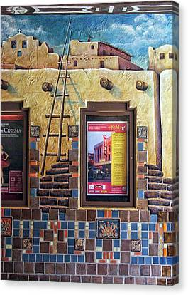Pueblo Architecture Canvas Print - Showing At The Kimo by Nikolyn McDonald