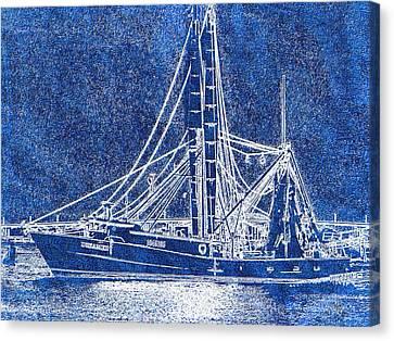 Shrimp Boat - Dock - Coastal Dreaming Canvas Print