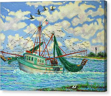 Shrimpin Canvas Print