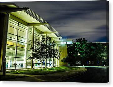 Shs Lower Cafeteria At Night Canvas Print