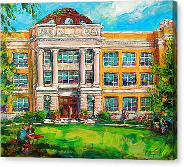 Shs Pride Canvas Print by Les Leffingwell