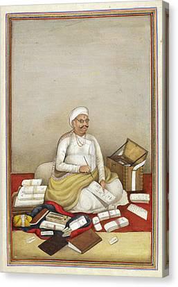 Shudra Accountant Canvas Print by British Library