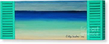 Shutter Me Sea Canvas Print