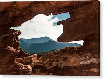 Canvas Print featuring the photograph Siamese Twins by Jay Stockhaus