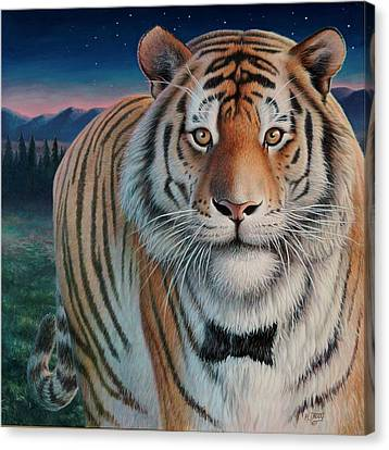 Zoofari Poster The Siberian Tiger Canvas Print