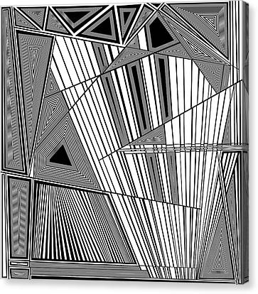 Sibilant Canvas Print by Douglas Christian Larsen