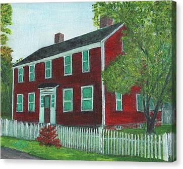 Sibson House Canvas Print