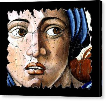 Sibyl Of Delphi Canvas Print by Steve Bogdanoff