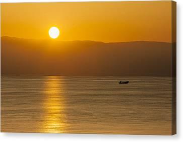 Sicilian Dawn Canvas Print