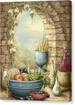 Sicilian Window. Canvas Print