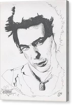 Sid Canvas Print by Alex Rodriguez