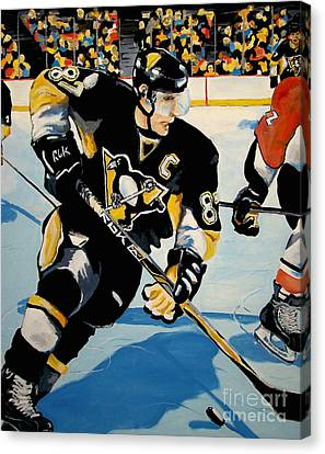 Sid The Kid Canvas Print by Philip Kram