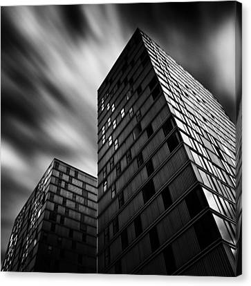 Side By Side Canvas Print by Dave Bowman