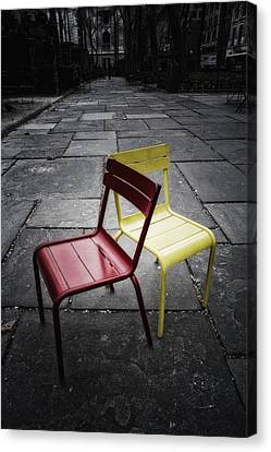 Side By Side Canvas Print by Russell Styles