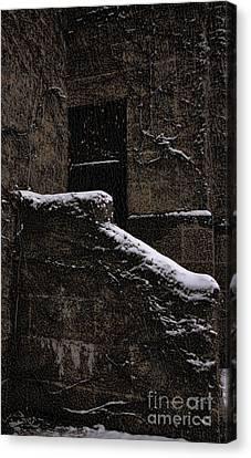 Side Door Canvas Print by Jasna Buncic