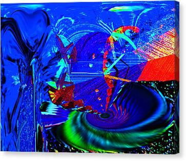 Sidewinder 4 Canvas Print