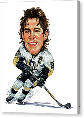 Sidney Crosby Canvas Print by Art