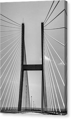 Sidney Lanier Bridge Canvas Print by Ginger Wakem