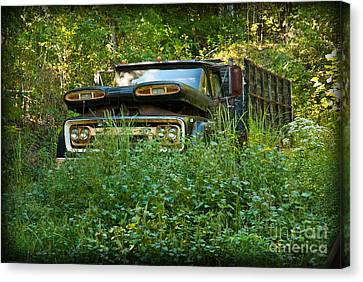 Sid's Old Truck Canvas Print by Lena Wilhite