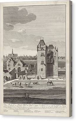 Siege Of Haarlem, 1572-1573 Right Page Canvas Print by Litz Collection