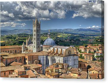 Siena Cathedral Canvas Print by Mick House