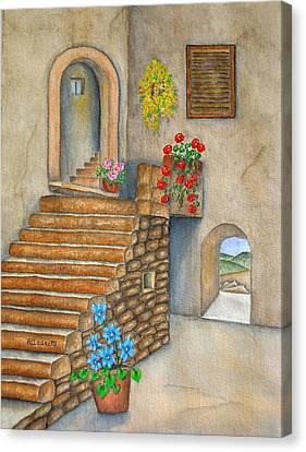 Siena Canvas Print by Pamela Allegretto