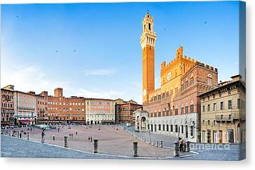Siena Sunset Canvas Print by JR Photography