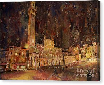 Siena Sunset Canvas Print by Ryan Fox