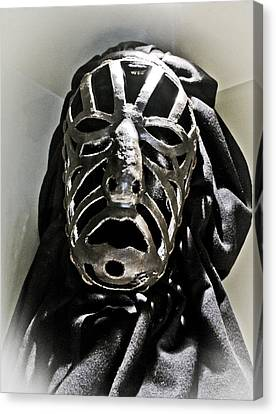 Siena Torture Mask Canvas Print