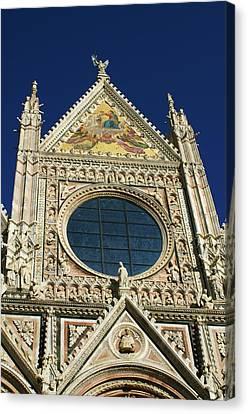 Sienna Cathedral Canvas Print by Barbara Stellwagen