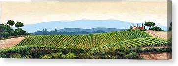 Sienna Hills Canvas Print by Michael Swanson