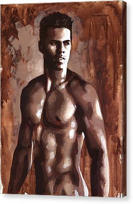 Sienna Marcus Canvas Print by Douglas Simonson