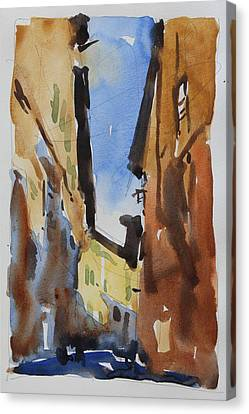 Sienna Street Canvas Print by Owen Hunt