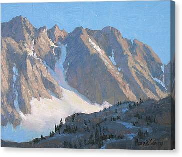 Sierra Evening Canvas Print