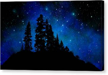 Sierra Foothills Wall Mural Canvas Print by Frank Wilson