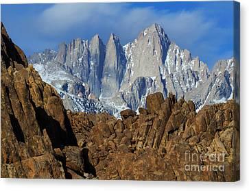Sierra Nevada California Canvas Print by Bob Christopher