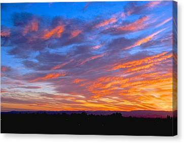 Sierra Nevada Sunrise Canvas Print by Eric Tressler