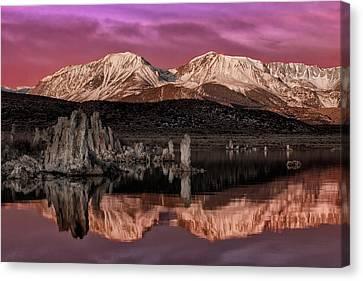 Sierra Sunrise Canvas Print