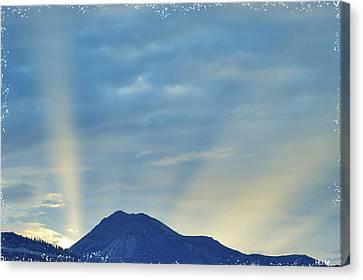 Sierra Sunset Canvas Print