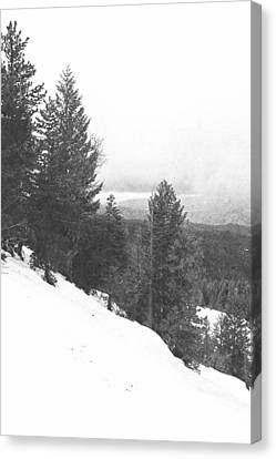 Sierra Winter Canvas Print