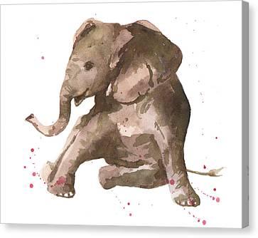 Siesta Sophie Elephant Canvas Print