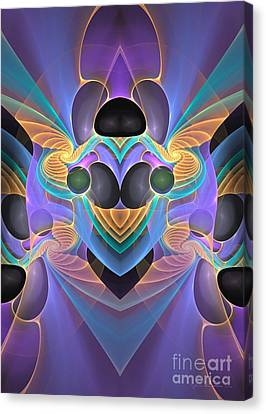 Sign Of The Angel Canvas Print by Sipo Liimatainen