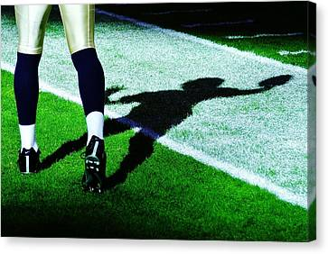 Qb Canvas Print - Signal Caller by Benjamin Yeager