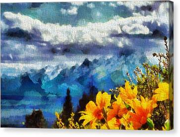 Signal Mountain Summer Canvas Print by Dan Sproul