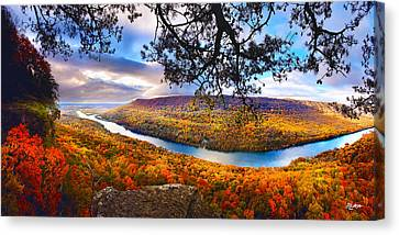Signal Point At Fall Canvas Print